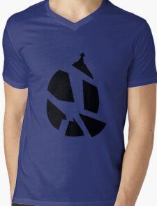 Shattered Soul Gem Mens V-Neck T-Shirt