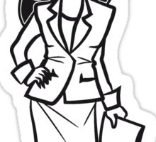 office success career woman Sticker