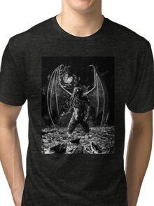 Cthulu Tri-blend T-Shirt