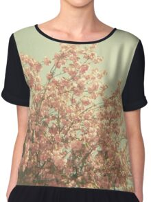 The Day is Done Chiffon Top