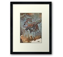 The Prickly Sawband  Framed Print