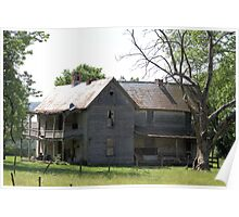 Abandoned Farm House Poster