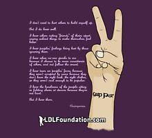 LOREN DONN LESLIE Foundation - Grip Fast Tattoo Design Unisex T-Shirt
