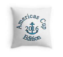 Americas Cup 2016: Sids Sailing days Throw Pillow