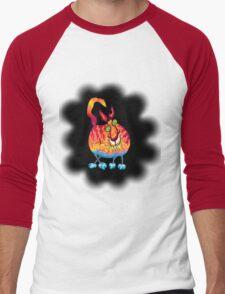 Hot Head Cold Feet Men's Baseball ¾ T-Shirt