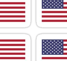 USA Flag ×8 Sticker
