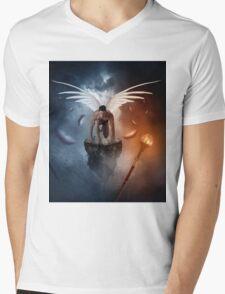 following the  lights Mens V-Neck T-Shirt