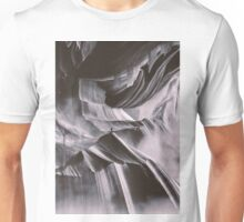 A return to a place never seen BW Unisex T-Shirt