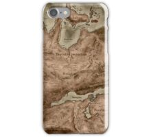 A Map of Known Thedas iPhone Case/Skin