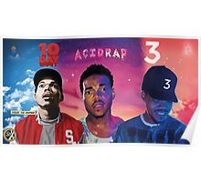 CHANCE 10 DAYS ACIDRAP COLORING BOOK Poster