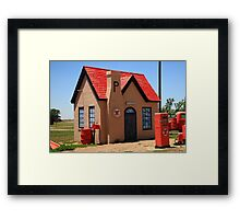 Route 66 - Phillips 66 Gas Station Framed Print
