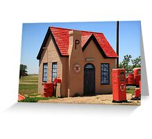 Route 66 - Phillips 66 Gas Station Greeting Card