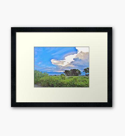 Storm Cloud Framed Print