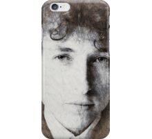 Bob Dylan portrait 03 iPhone Case/Skin