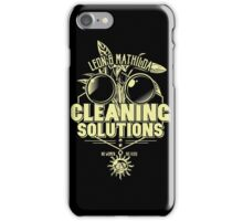 Cleaning Soutions iPhone Case/Skin