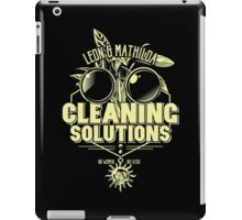 Cleaning Soutions iPad Case/Skin