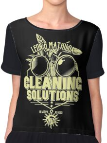 Cleaning Soutions Chiffon Top