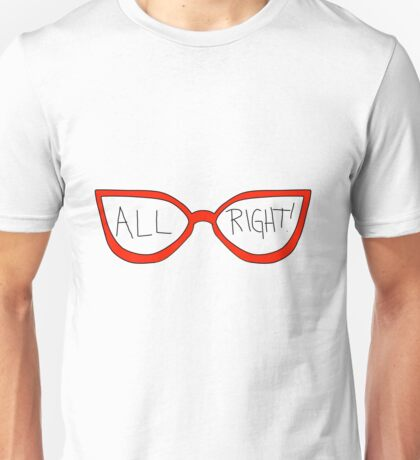"Linda Belcher ""All Right!"" Unisex T-Shirt"