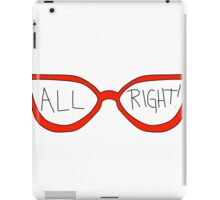 "Linda Belcher ""All Right!"" iPad Case/Skin"