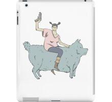 WAR G1RLZ 2: Mange Rider Sue. iPad Case/Skin