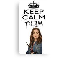 Buffy Team Faith Canvas Print