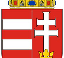 Coat of Arms of the Kingdom of Hungary by PattyG4Life