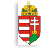 Coat of Arms of the Kingdom of Hungary Canvas Print