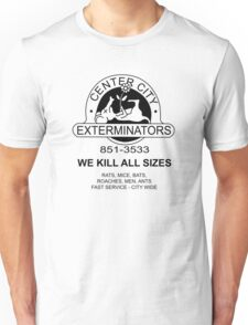 WE KILL ALL SIZES - Crimewave Unisex T-Shirt