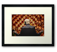 The Good Messenger. Trump 2016 Framed Print