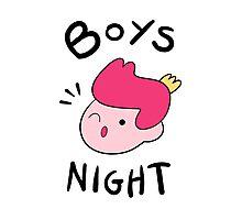 BOYS NIGHT-gumball Photographic Print