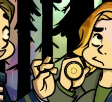 X-Files - Spooky Scary Scully  Sticker