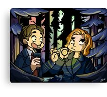 X-Files - Spooky Scary Scully  Canvas Print