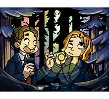 X-Files - Spooky Scary Scully  Photographic Print