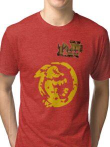 Orange Iguanas - Vintage Tri-blend T-Shirt