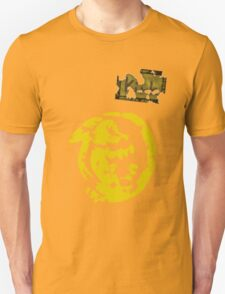 Orange Iguanas - Vintage Unisex T-Shirt