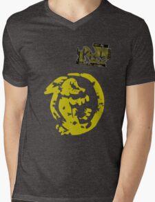 Orange Iguanas - Vintage Mens V-Neck T-Shirt