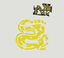 Silver Snakes - Vintage Unisex T-Shirt
