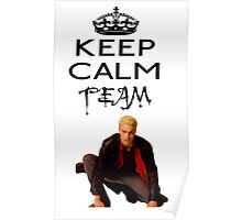 Buffy Team Spike Poster