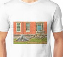 BOOOOOOM    Cannon in the Courtyard Unisex T-Shirt