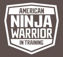 American Ninja Warrior - White One Piece - Short Sleeve