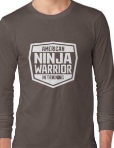 American Ninja Warrior - White Long Sleeve T-Shirt