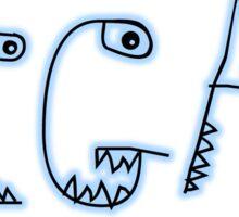 Vegan Monster Sticker