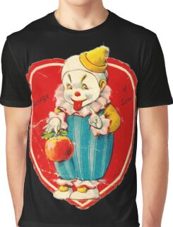 Vintage Valentine evil clown Graphic T-Shirt