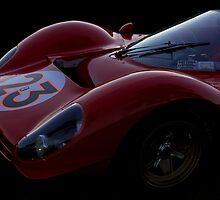 1967 Ferarri 330 P3/4 - Sensual Speed Full Frontal by Timothy Meissen