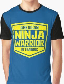 American Ninja Warrior - Yellow Graphic T-Shirt