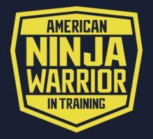 American Ninja Warrior - Yellow One Piece - Short Sleeve