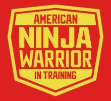 American Ninja Warrior - Yellow One Piece - Long Sleeve