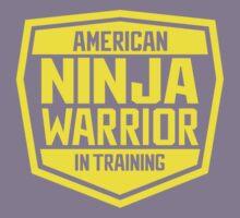 American Ninja Warrior - Yellow Kids Tee