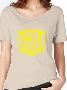American Ninja Warrior - Yellow Women's Relaxed Fit T-Shirt