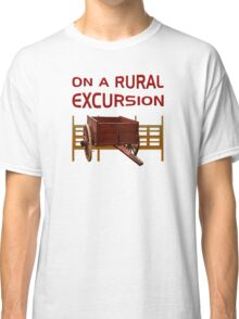 On A Rural Excursion Classic T-Shirt